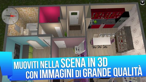Progetta facilmente gli interni con il tuo iPad e Home design 3D