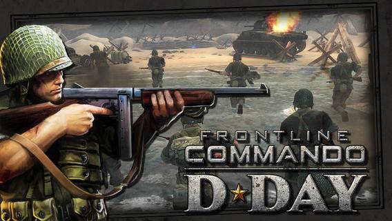 Combatti la seconda Guerra Mondiale con Frontline commando D-Day