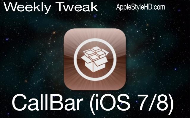 Weekly Tweak: CallBar (iOS 7 / 8)