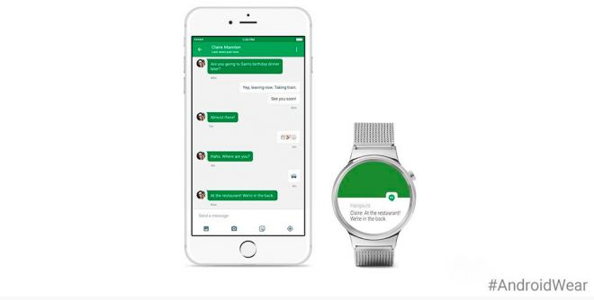 Android wear e iOS? da oggi sì.