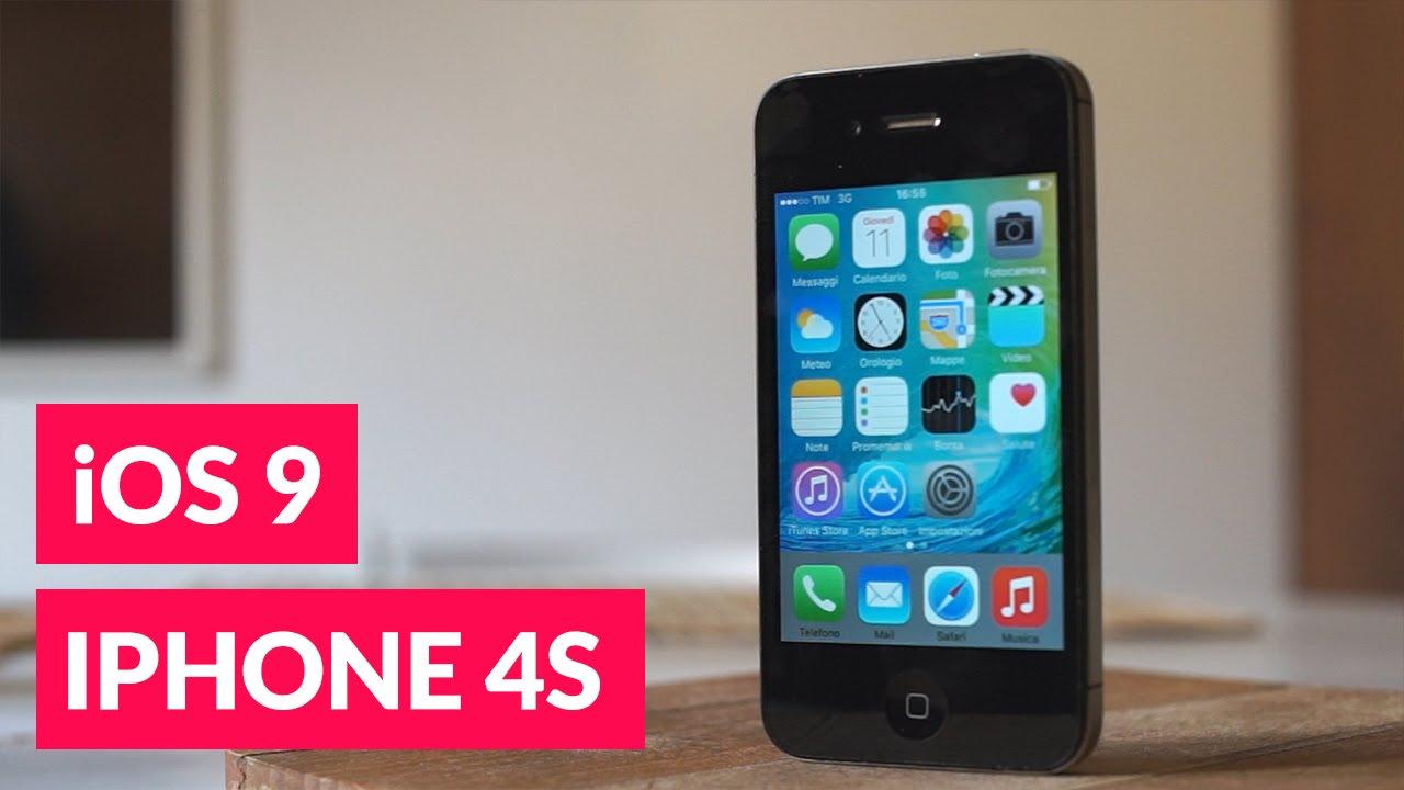 IOS 9 su IPhone 4S conviene aggiornare?