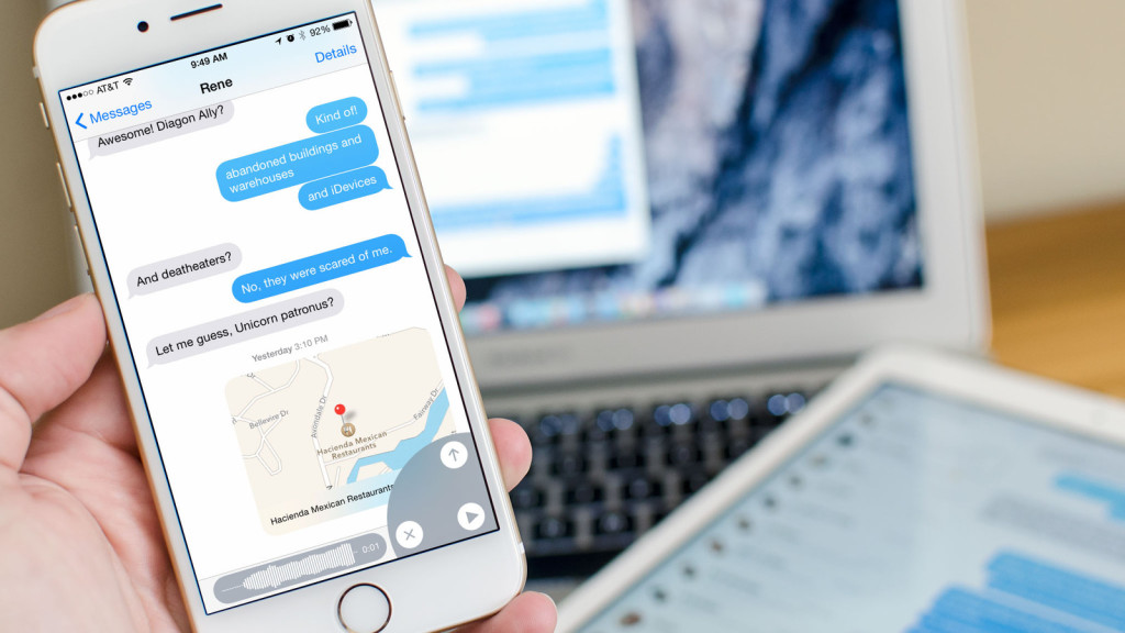 iMessage e forze dell'ordine