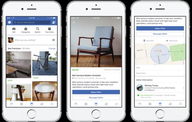 Facebook Marketplace, la nuova piattaforma per vendere e acquistare oggetti