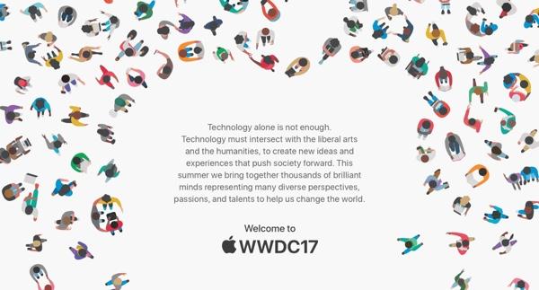La WWDC 2017 si terrà dal 5 al 9 Giugno