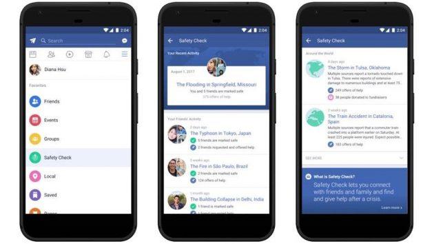 Facebook Safety Check diventa una funzione sempre attiva su iOS…